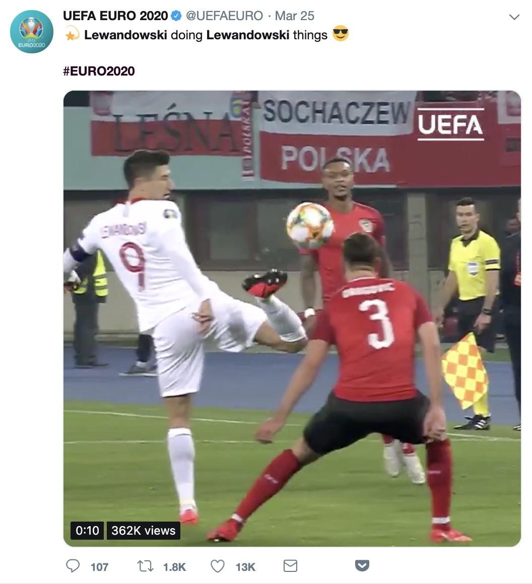 hashtagi twitter lewandowski euro2020