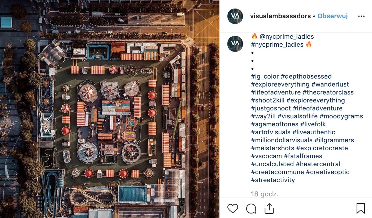 ile hashtagów pod zdjęciem instagram