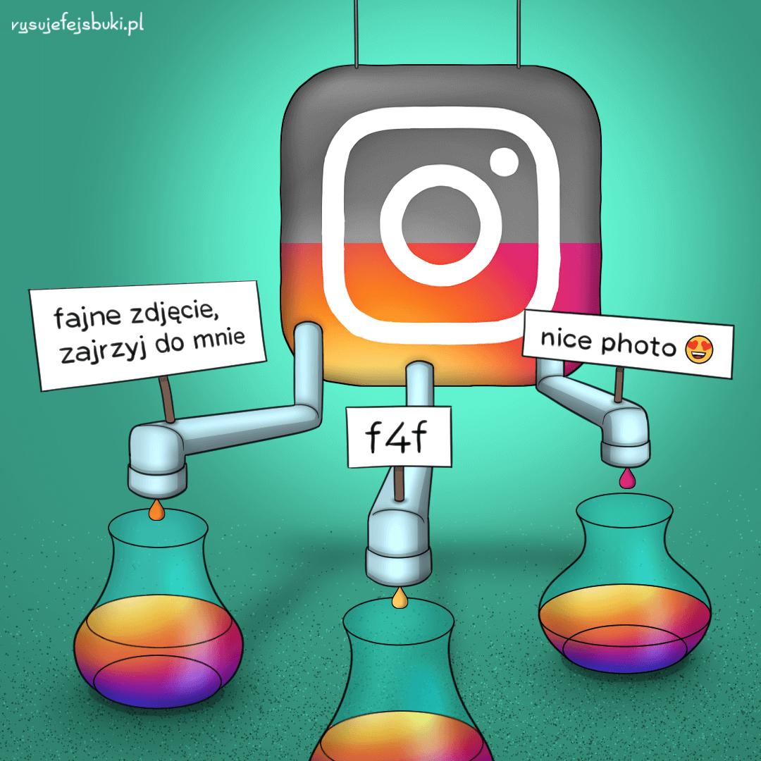 Boty-na-Instagramie rysuje facebooki