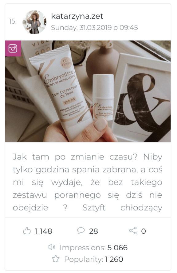mikro influencer instagram katarzyna.zet