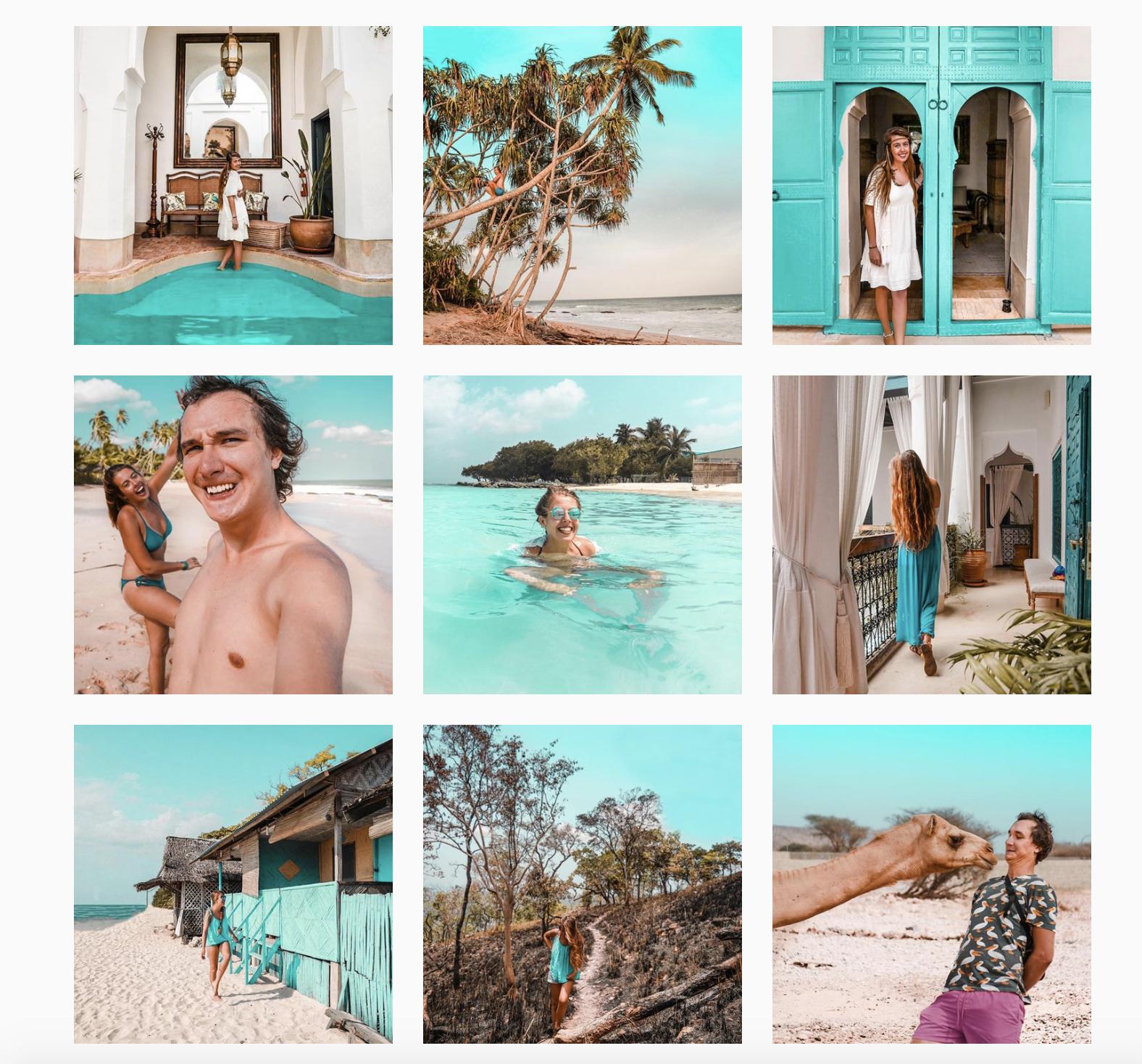 podróz odbyta instagram