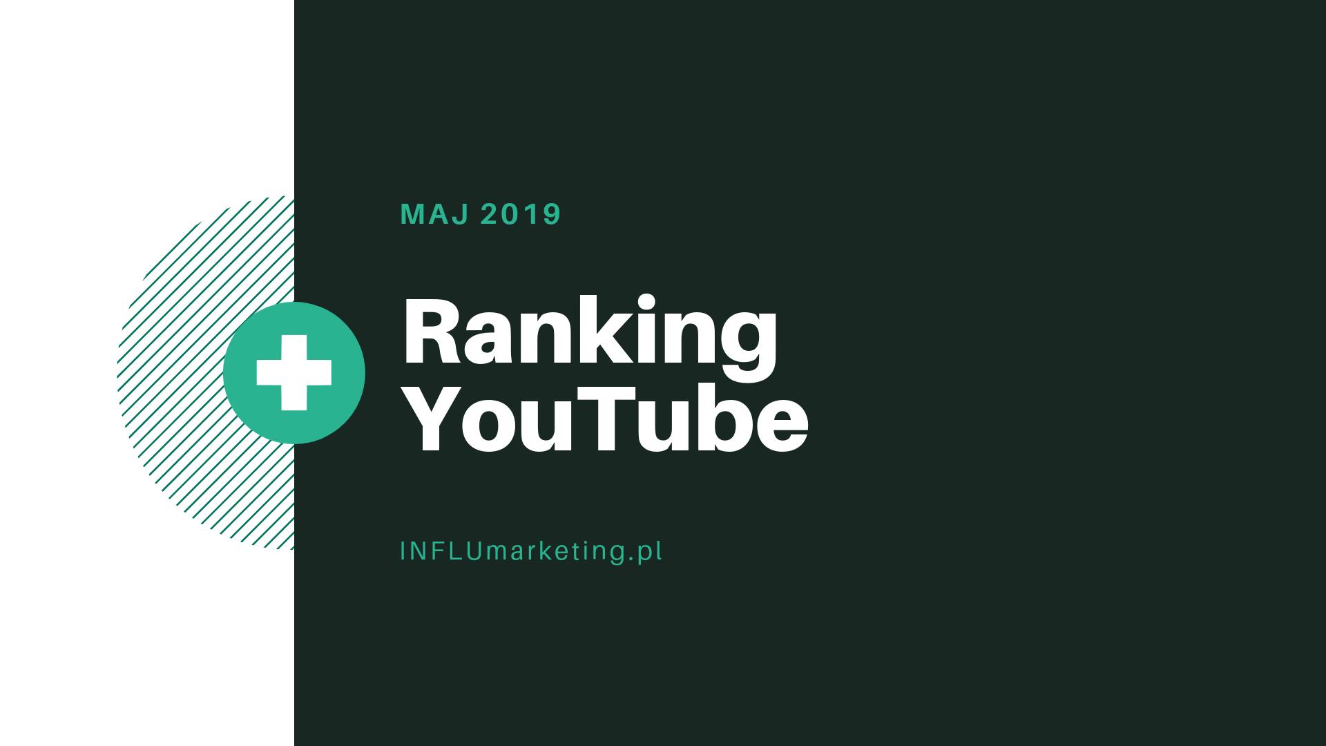 ranking youtube maj 2019