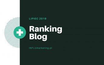 Ranking Blog Polska - Lipiec 2019