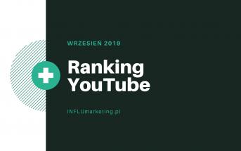 ranking youtube polska wrzesień 2019