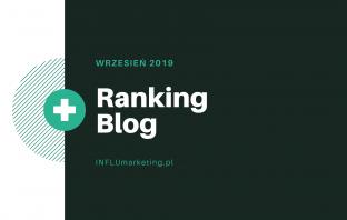 ranking blog polska wrzesień 2019