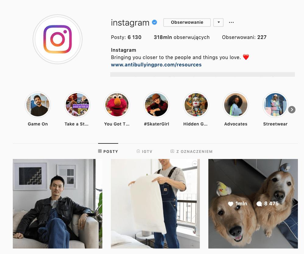 instagram interakcje komentarze
