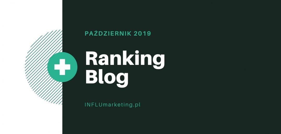 ranking blog polska 2019 październik