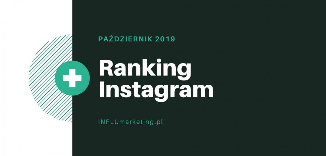 Ranking Instagram Polska 2019 Październik