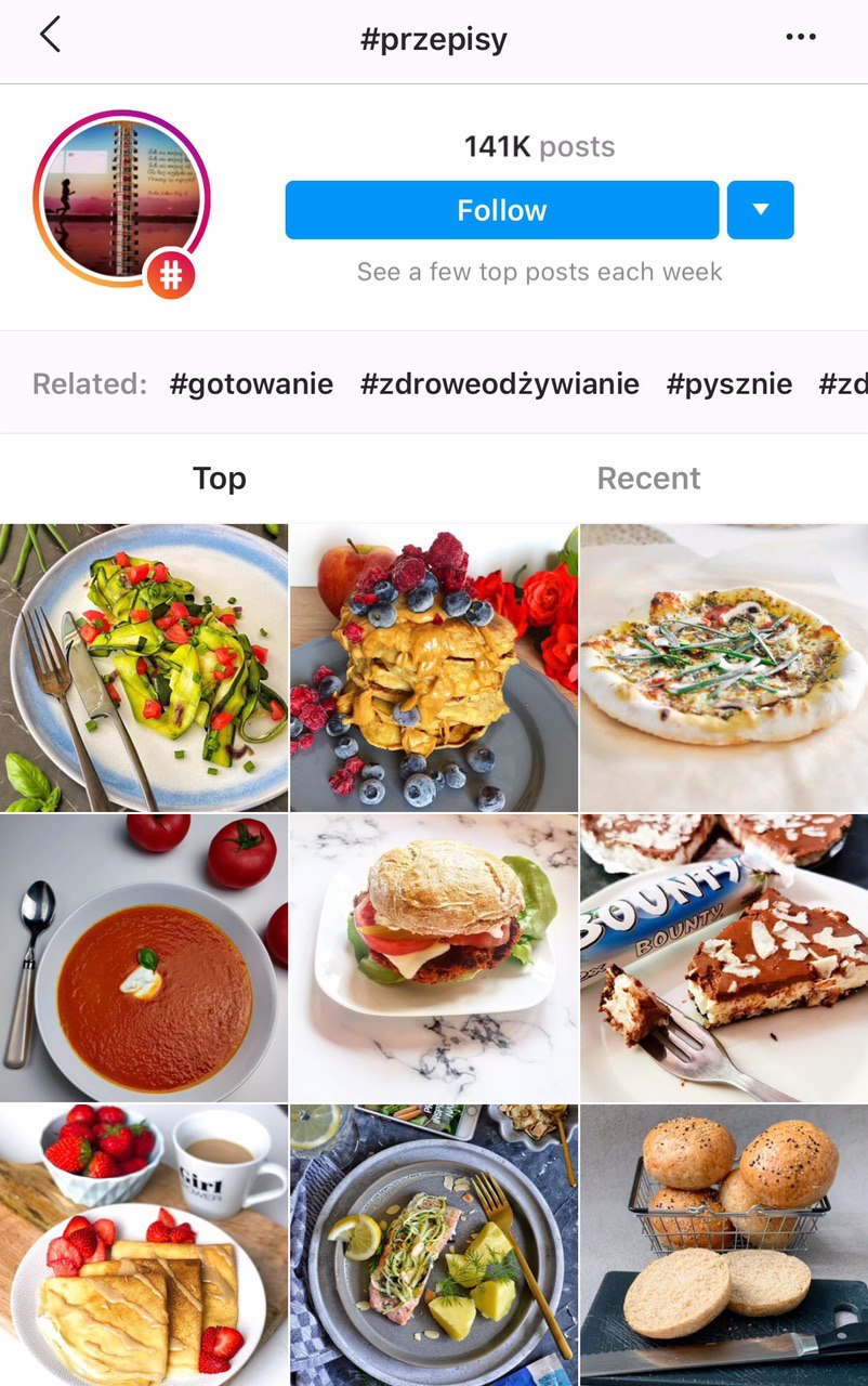top9 najpopularniejsze zdjecia hastagu instagram