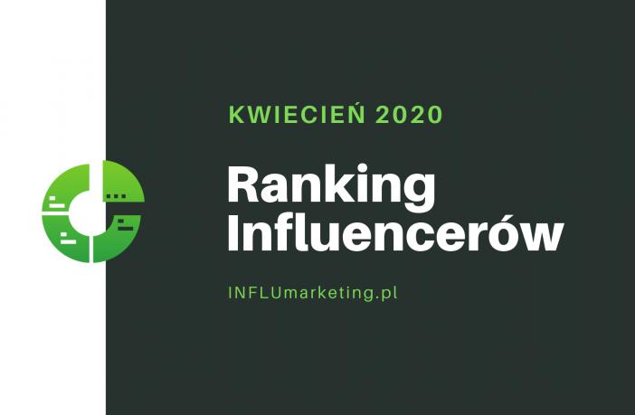 ranking influencerów polska 2020 cover photo KWIECIEŃ
