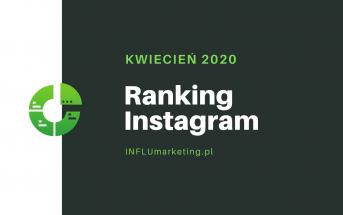 ranking instagram polska 2020 cover photo KWIECIEŃ