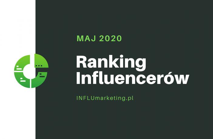 ranking influencerów polska 2020 cover photo maj