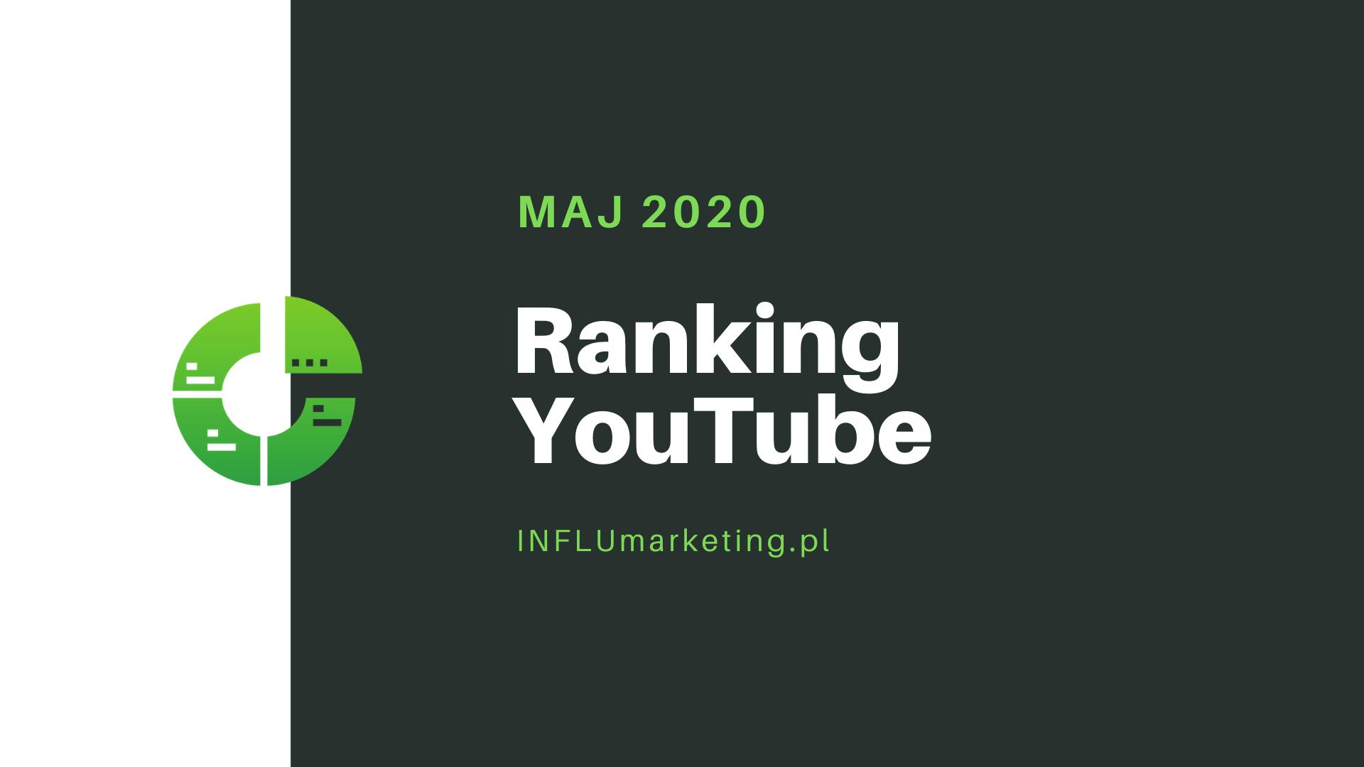 ranking youtube polska 2020 cover photo maj