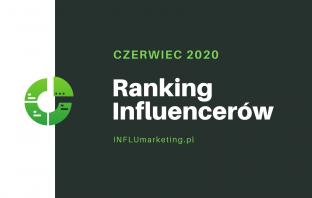 ranking influencerów polska 2020 czerwiec cover photo