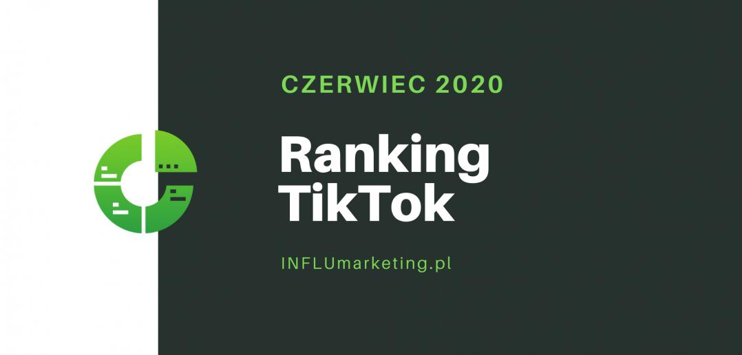 ranking tiktok polska 2020 czerwiec cover photo