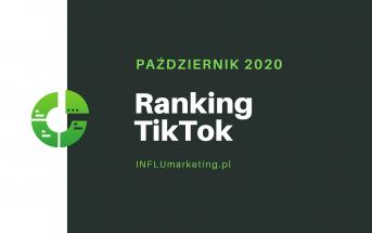 RANKING TOP 10 TIKTOK polska październik 2020 cover photo