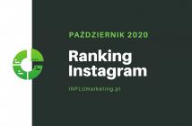 Ranking Instagram 2020 październik cover photo