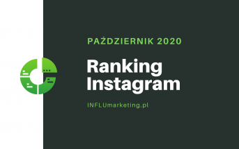 Ranking Instagram 2020 październik cover photo