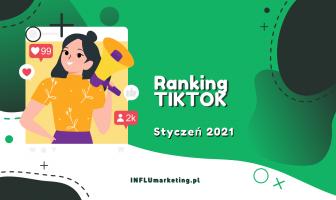Ranking TikTok Polska Styczeń 2021